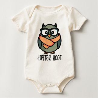 Body Para Bebê Buzina do hipster