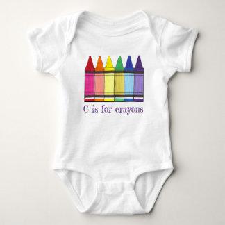 Body Para Bebê C é para a coloração do pastel da arte do