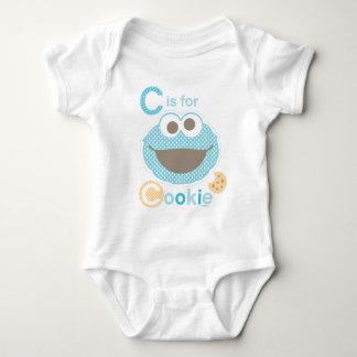 Body Para Bebê C é para o bebê do biscoito