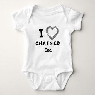 Body Para Bebê C.H.A.I.N.E.D. Inc. Bebê