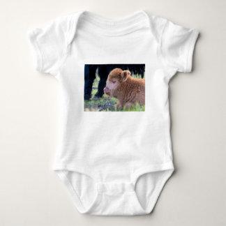 Body Para Bebê Cabeça do escocês escocês recém-nascido de