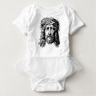 Body Para Bebê Cabeça do Jesus Cristo