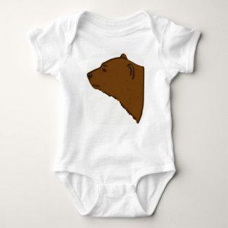 Body Para Bebê Cabeça do urso