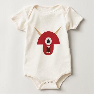 Body Para Bebê Cabeça má do monstro