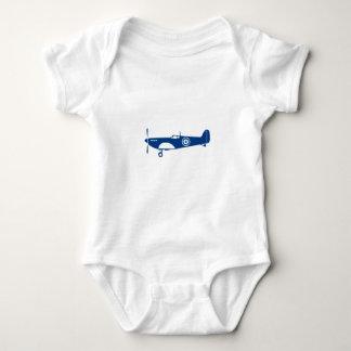 Body Para Bebê Cabeça-quente do avião de combate da guerra