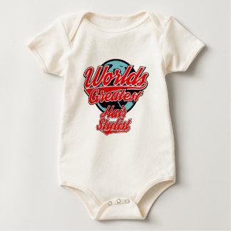 Body Para Bebê cabeleireiro