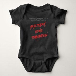 Body Para Bebê Cabelo clássico hoje, bebê amanhã ido Onsie