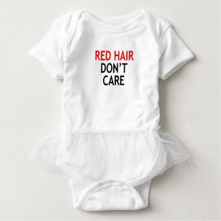 Body Para Bebê cabelo vermelho