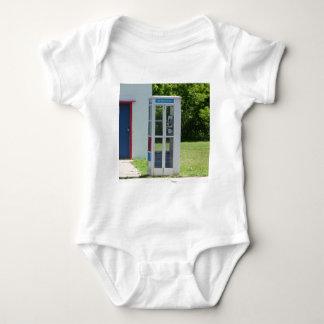 Body Para Bebê Cabine de telefone