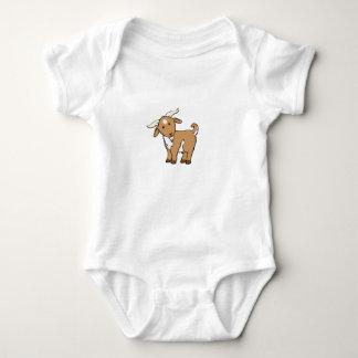 Body Para Bebê cabra marrom bonito