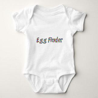 Body Para Bebê Caça do ovo de felz pascoa da tipografia do