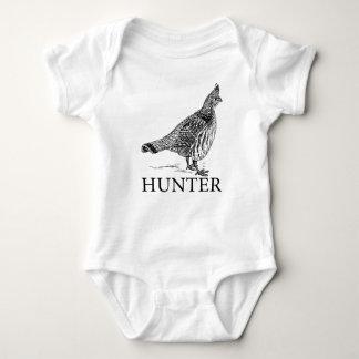 Body Para Bebê Caçador do galo silvestre