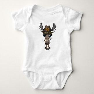 Body Para Bebê Caçador do zombi dos alces do bebê