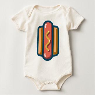 Body Para Bebê Cachorro quente