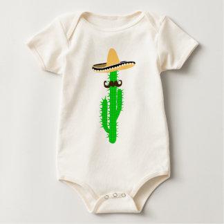 Body Para Bebê cacto