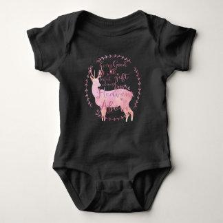 Body Para Bebê Cada bom & presente perfeito vem do céu acima