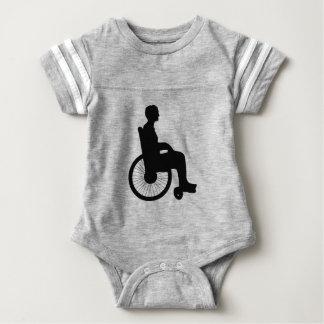 Body Para Bebê Cadeira de roda