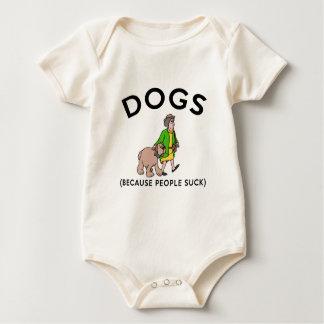 Body Para Bebê cães porque as pessoas sugam