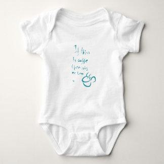 Body Para Bebê Café ou chá