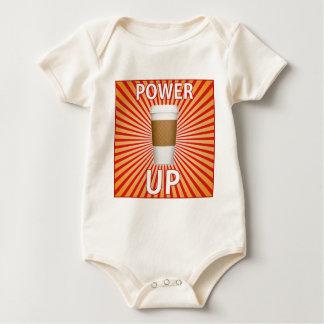 Body Para Bebê Café - seu poder super!