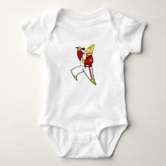 Body Para Bebê cafepress da estrela do canto principais