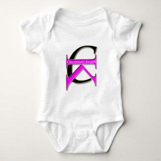 Body Para Bebê Caiaque de Cincinnati - bebê - logotipo