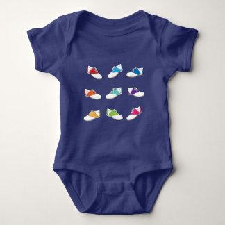 Body Para Bebê Calçados de sela na cor