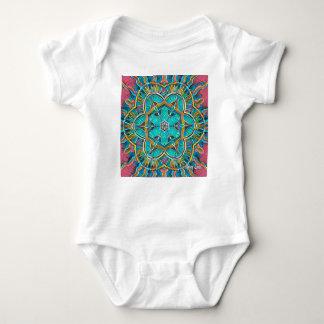 Body Para Bebê Caleidoscópio do tema do verão