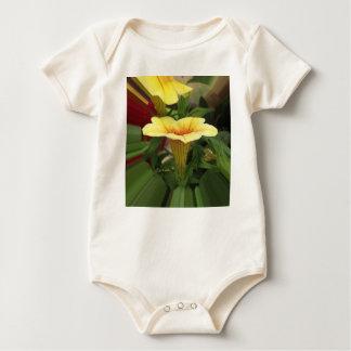 Body Para Bebê Cálices de flor