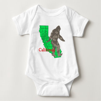 Body Para Bebê Califórnia bigfoot
