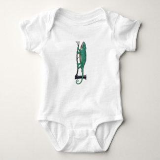 Body Para Bebê Camaleão