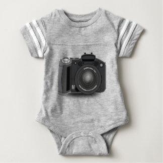 Body Para Bebê Câmara digital