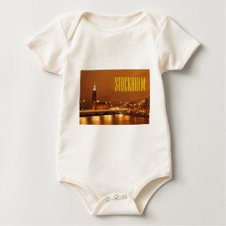 Body Para Bebê Câmara municipal de Éstocolmo, suecia