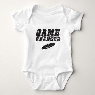 Body Para Bebê Cambiador final do jogo do Frisbee