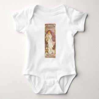 Body Para Bebê Camélias francesas de Nouveau da arte - Alphonse