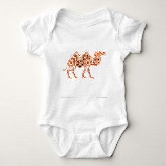 Body Para Bebê Camelo