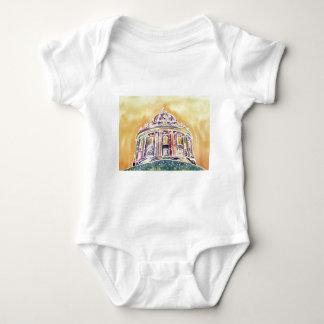 Body Para Bebê Câmera de Radcliffe - pintura do watercolour