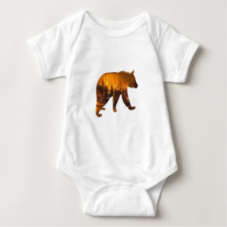Body Para Bebê Caminhante de fogo