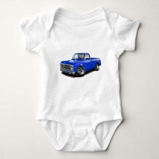 Body Para Bebê Caminhão 1970-72 do azul de Chevy C10