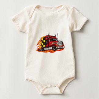 Body Para Bebê Caminhão grande do equipamento