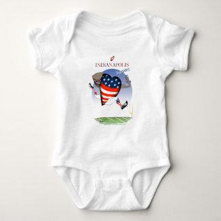 Body Para Bebê campeões do futebol de indianapolis, fernandes