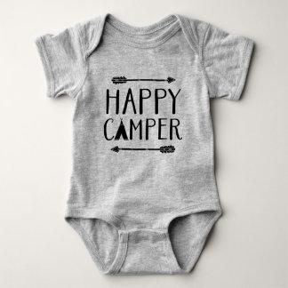Body Para Bebê Campista feliz