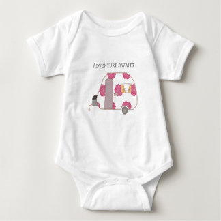 Body Para Bebê Campista feliz - a aventura espera