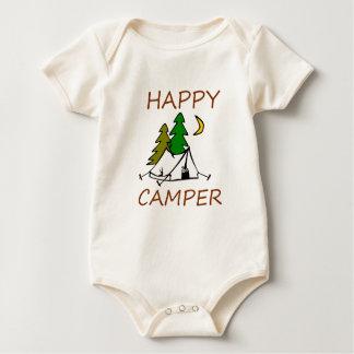 Body Para Bebê Campista feliz fora