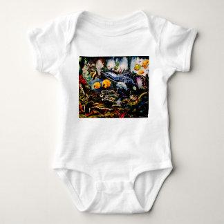 Body Para Bebê Campo de jogos subaquático
