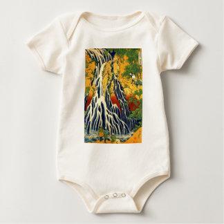 Body Para Bebê Camponeses e cachoeira