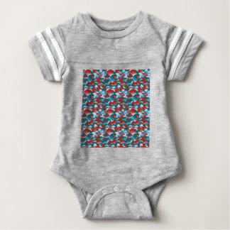 Body Para Bebê Camuflagem