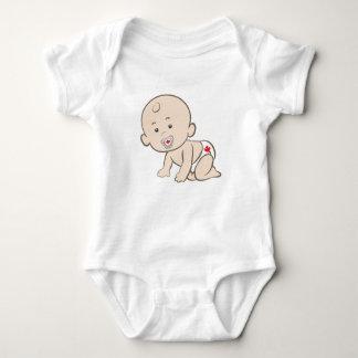 Body Para Bebê Canadense de rastejamento do bebê