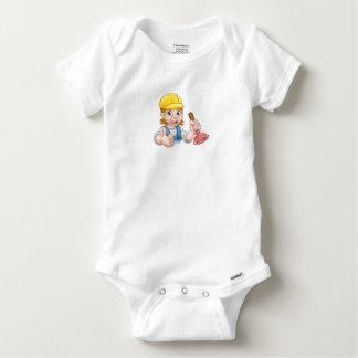Body Para Bebê Canalizador fêmea dos desenhos animados que