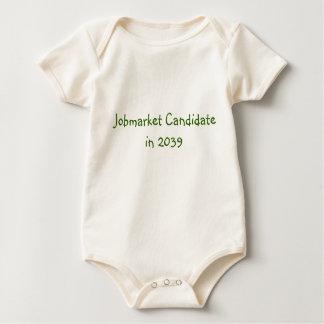Body Para Bebê Candidato de Jobmarket em 2039